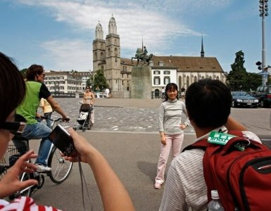 Chinese Tourists - Zurich