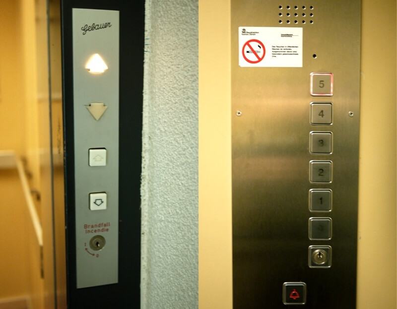 Swiss Touch - Elevator