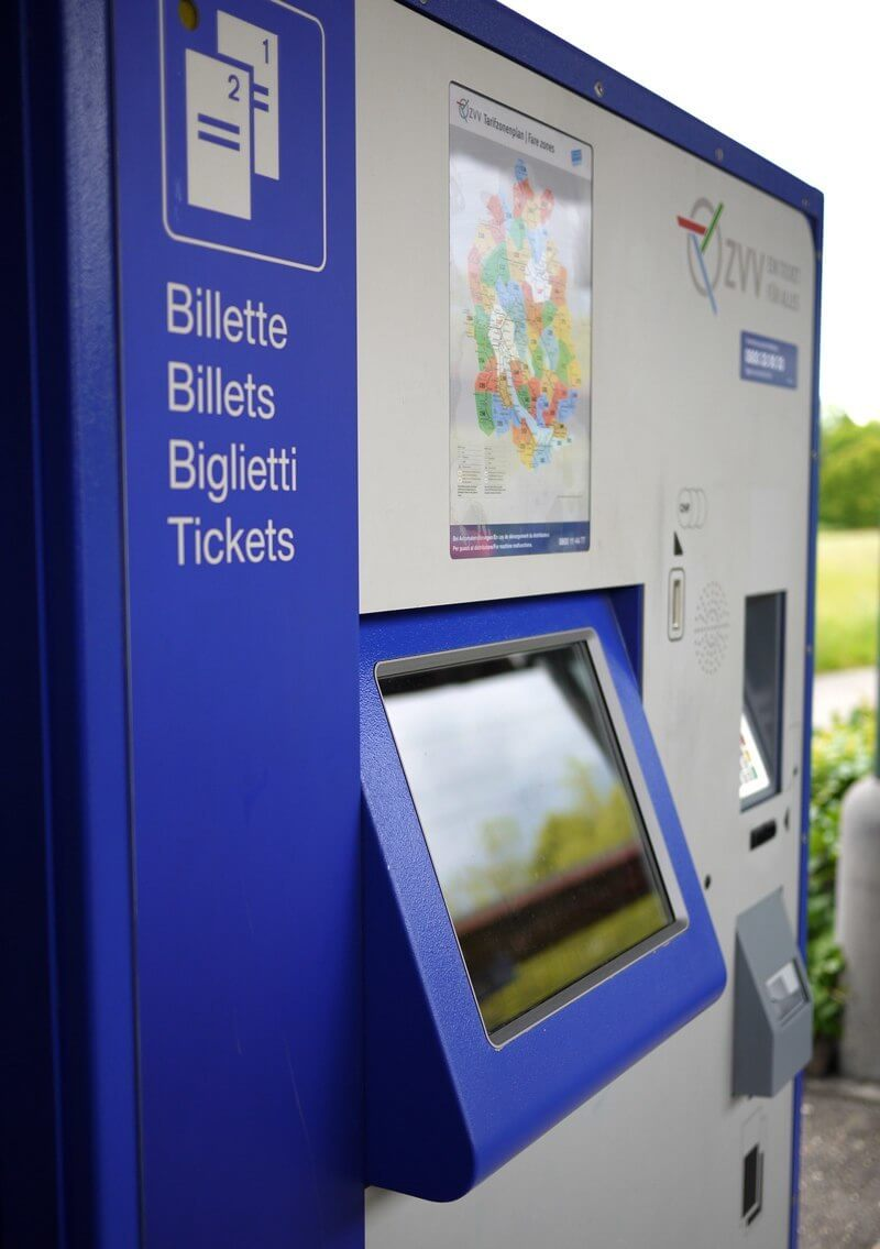 Swiss Touch - ZVV Ticket Machine