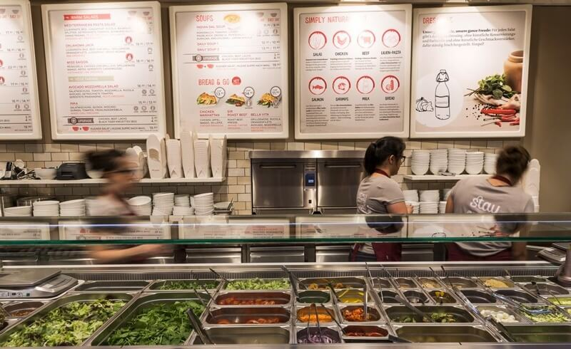 Healthy Fast Food Resturants