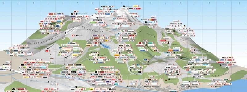 Schweizer Markenplakat 2013