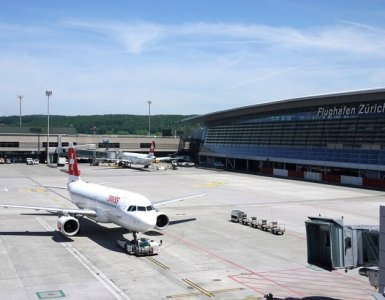 Zurich Airport Visitor Deck