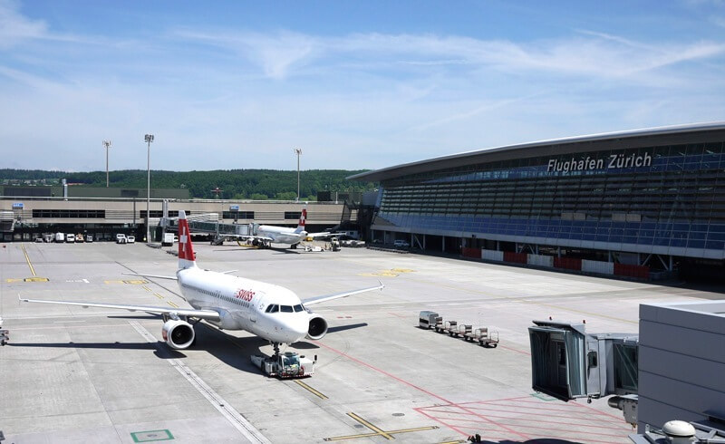 Zurich Airport Visitor Deck