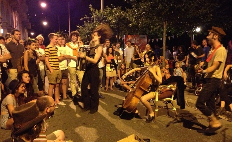Buskers Lugano 2013