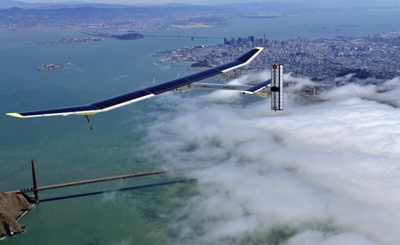 Solar Impulse - Golden Gate Bridge