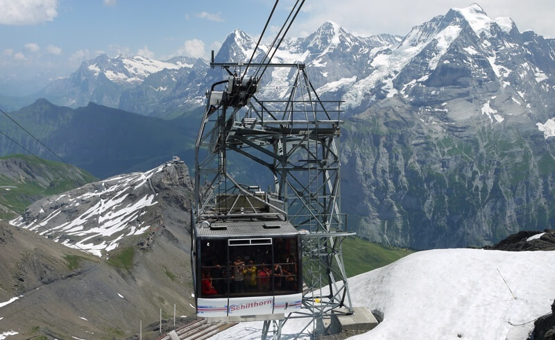Schilthorn - Bond World 007