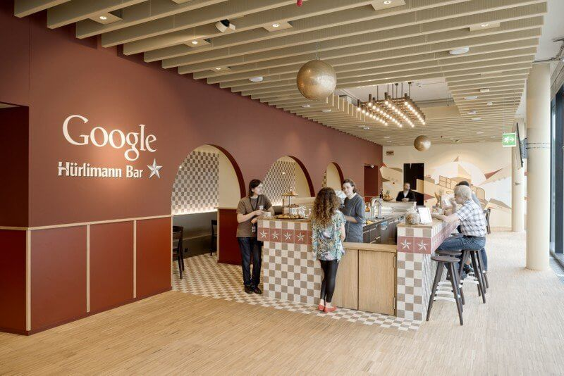 Inside Google S New Headquarter In Zurich