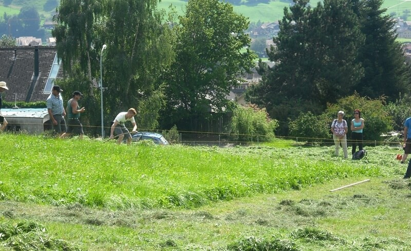 Frutigen Scything Competition - Switzerland