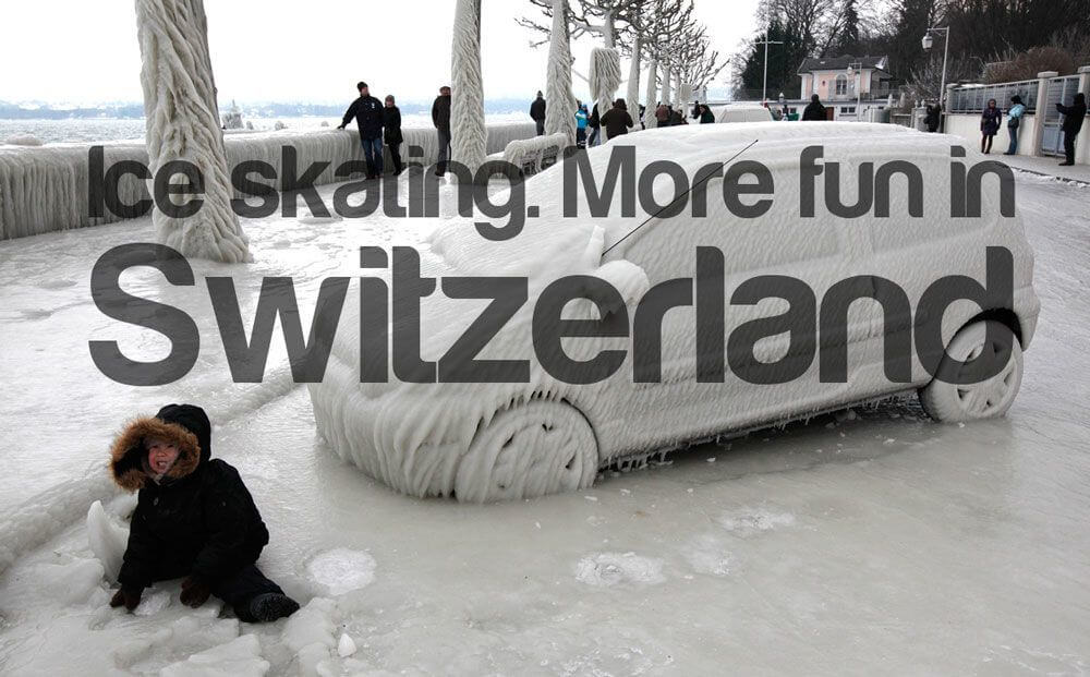 More Fun in Switzerland - Ice Skating