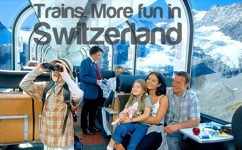 More Fun in Switzerland - Trains