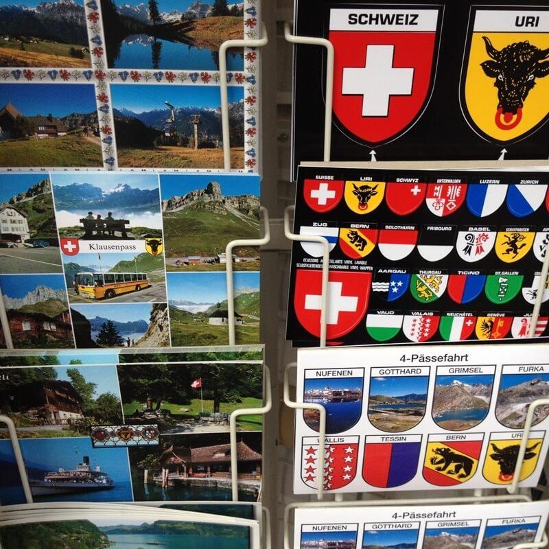 Reasons to Love Switzerland - Postcards