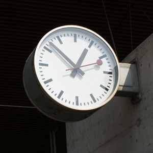 Swiss Station Clock Mondaine