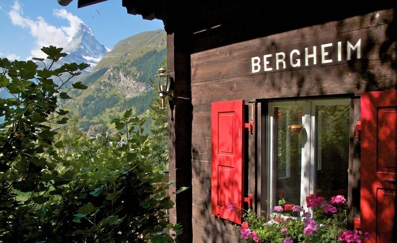Chalet Bergheim in Zermatt, Switzerland