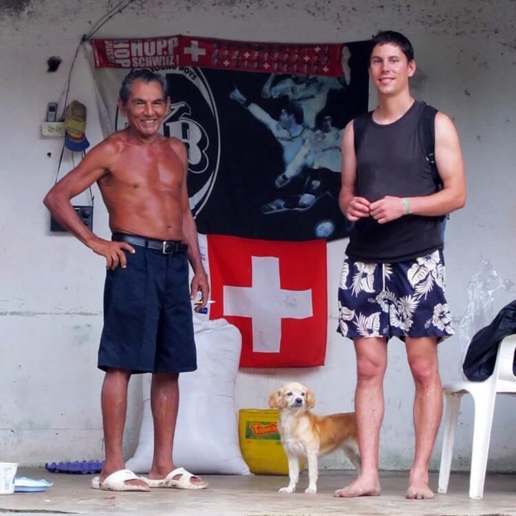 Colombia - Tayrona Vonlanthen's Grandfather