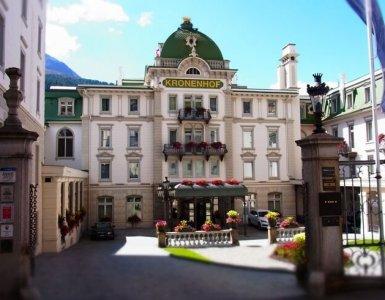 Hotel Kronenhof, Pontresina, Switzerland