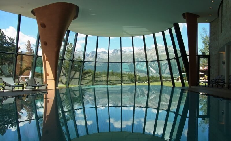 Hotel Kronenhof Panorama Pool, Pontresina, Switzerland