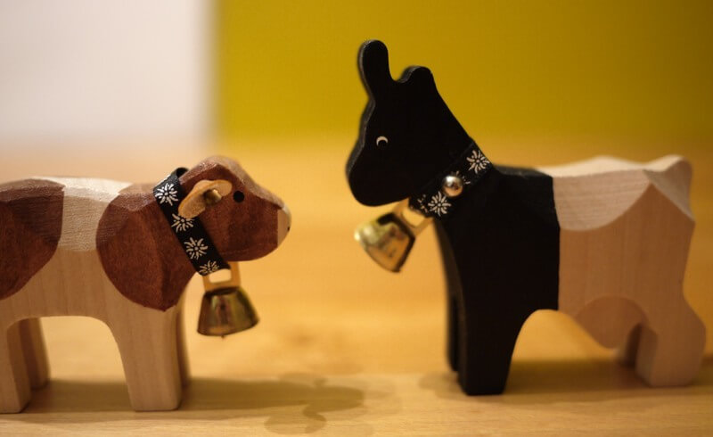 Swiss Handmade Toy Animals