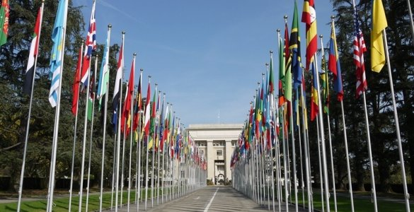 United Nations in Geneva, Switzerland