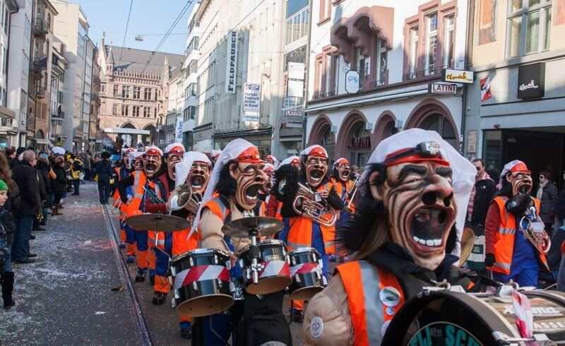 Basel - Basler Fasnacht 2013 - Copyright by Bill Harby