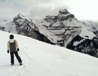 Engelberg Brunni Snow Shoe Hiking