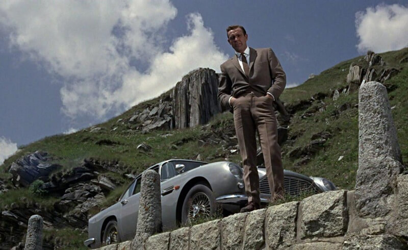 Unique Swiss Road - Furka - James Bond in Goldfinger