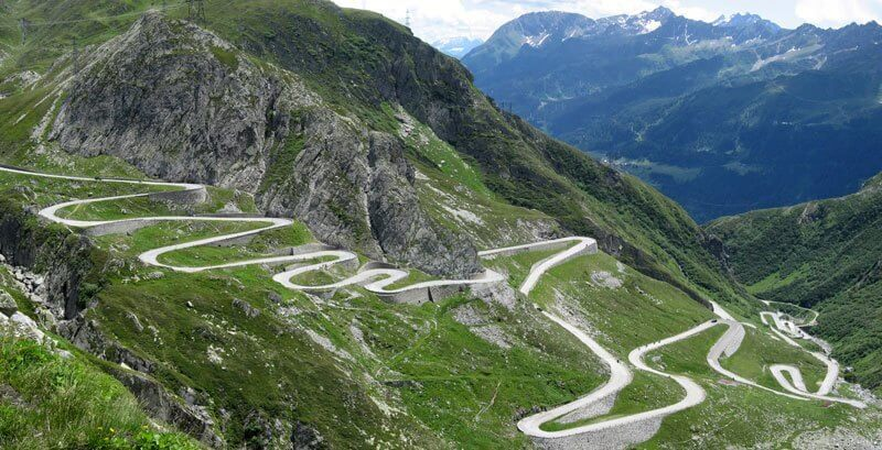 Unique Swiss Road - Gotthard-Pass