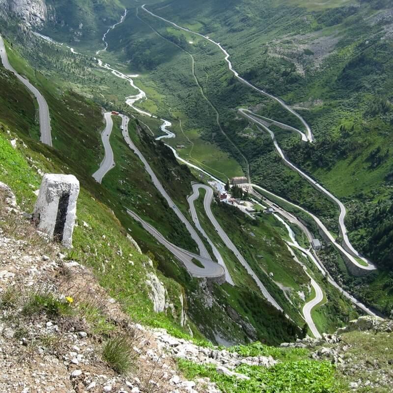 Alpine Motorcycle Gear >> Top 6 Most Unique Roads in Switzerland