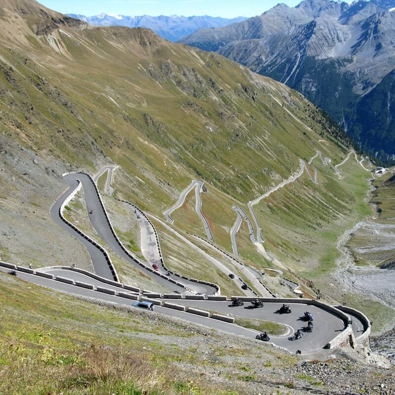Unique Swiss Road - Stelvio