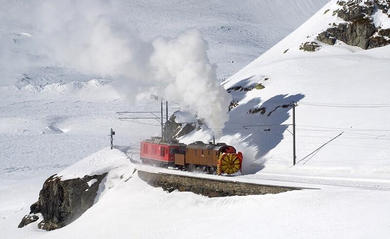 Xrot 9213 Rhätische Bahn
