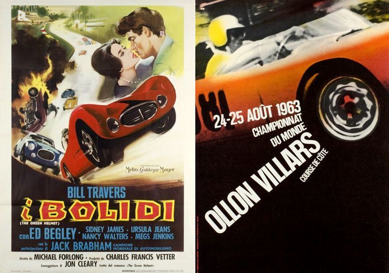 Vintage Automotive Posters Le Mans