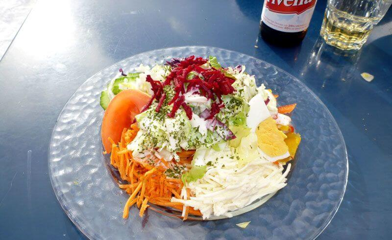 Things Swiss Abroad Miss - Salad Plate
