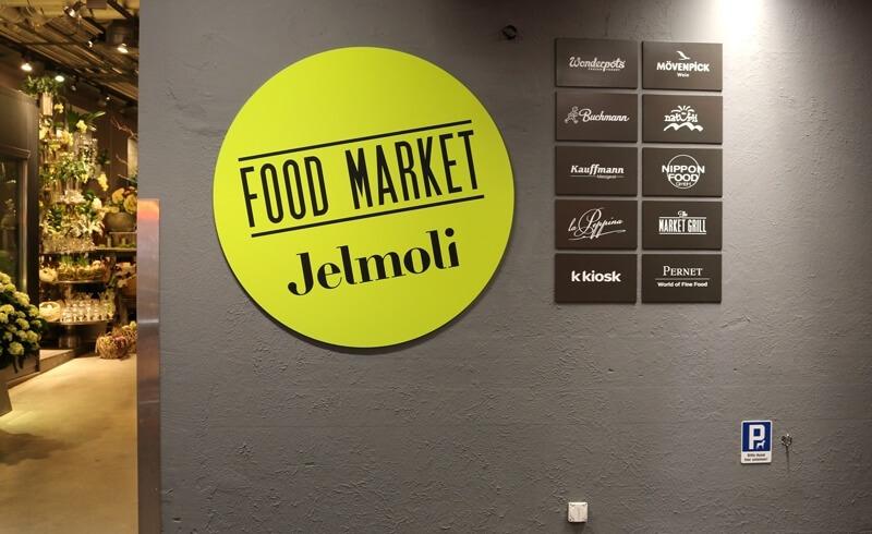 Jelmoli Food Market Zurich