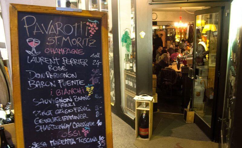 St. Moritz Gourmet - Pavarotti Bar