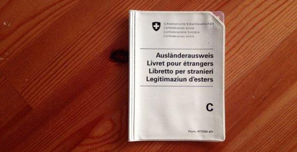 Swiss Work Permit C - Ausländerausweis C