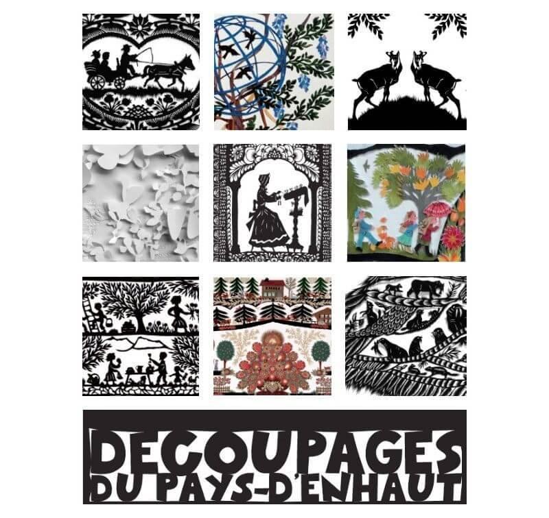 Traditional Swiss Paper Cuts - Copyright Musée du Vieux Pays-d'Enhaut