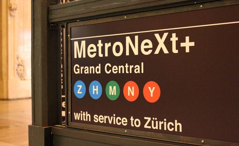 Zurich Meets New York - MetroNext+