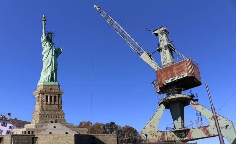 ZuricZurich vs New York City - Liberty vs. Dock Crane
