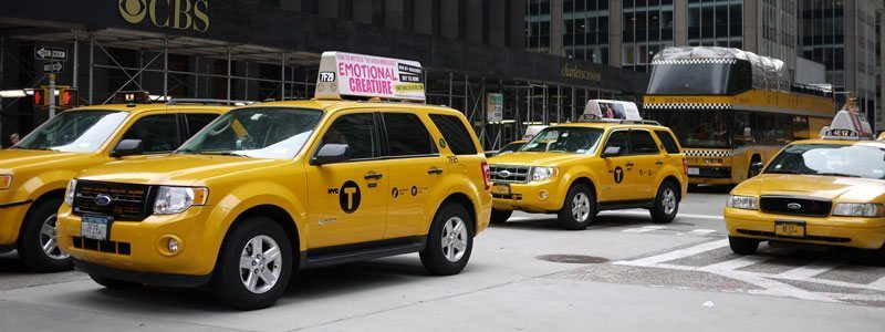 Zurich vs New York City - Taxi Cabs