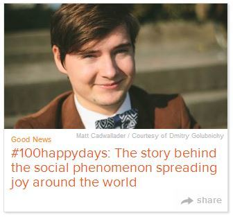 Interview with #100happydays Founder