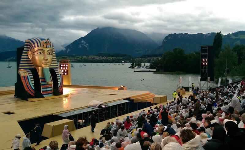AIDA Musical Thunersee Lake Thun