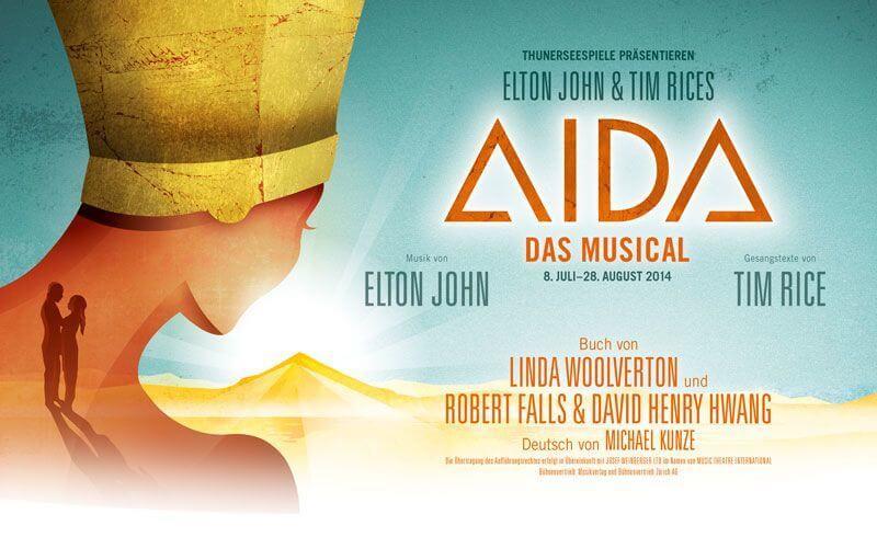 AIDA Musical Thunersee Lake Thun