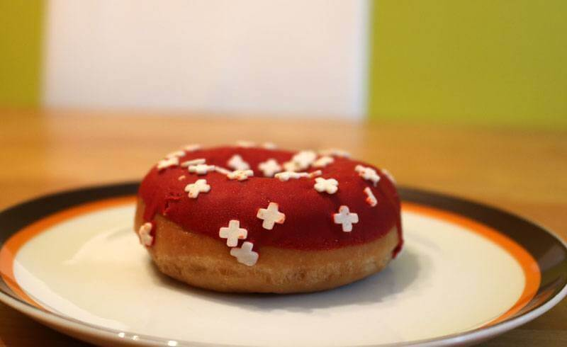 August 1 Swiss National Day - Swissness Donuts