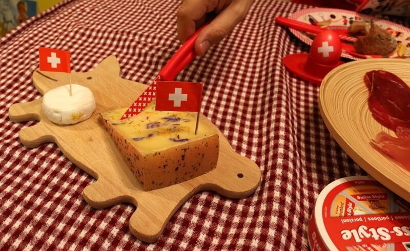 August 1 Swiss National Day - Swiss Cheese Heidi Migros