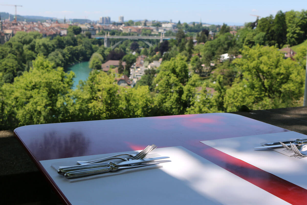 Restaurant Rosengarten in Bern, Switzerland