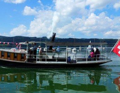 DS Greif Steamboat Greifensee Switzerland