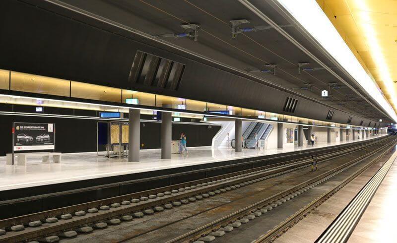 Zurich Hauptbahnhof 2014 - Bahnhof Löwenstrasse