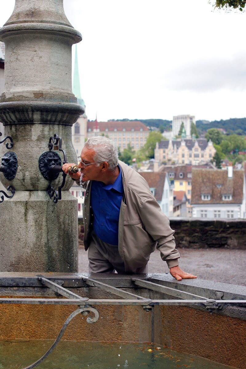 Humans of Zurich - 10 Fountain Portraits