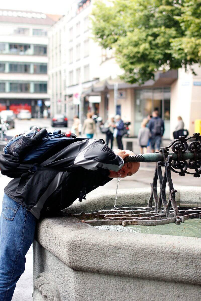 Humans of Zurich - 10 Fountain Portraits