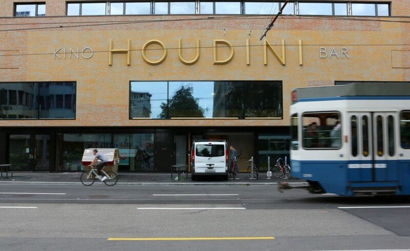 Kino Bar Houdini Zurich Kalkbreite
