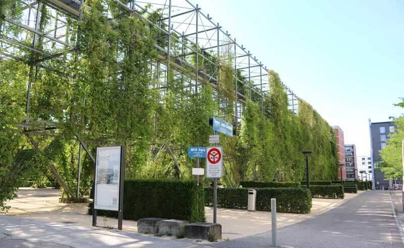 MFO Park Zurich Oerlikon Burckhardt + Partner und Raderschall Architekten